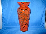 Click here to enlarge image and see more about item 8620B5: Lava Flow Vase Lmtd. by Frank Workman