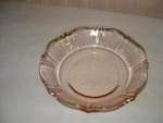 Click here to enlarge image and see more about item C120: PINK AMERICAN SWEETHEART CEREAL BOWL