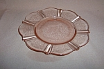 Click here to enlarge image and see more about item C3125: PINK AMERICAN SWEETHEART BREAD PLATE