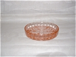 Click here to enlarge image and see more about item C3286: PINK CUBE COASTER
