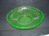 Click here to enlarge image and see more about item C3474: GREEN MAYFAIR DEPRESSION SHALLOW  BOWL