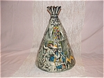 Click here to enlarge image and see more about item C459: RARE McCOY TEPEE COOKIE JAR