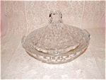 AMERICAN FOSTORIA COVERED LEMON DISH