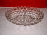 FOSTORIA AMERICAN 2 PART VEGETABLE DISH