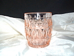 Click here to enlarge image and see more about item CA3128: PINK WINDSOR SMALL FLAT JUICE TUMBLER