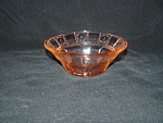 Click here to enlarge image and see more about item CM3201: PINK DORIC DEPRESSION BERRY BOWL