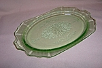Click here to enlarge image and see more about item CM3342: GREEN PRINCESS OVAL PLATTER