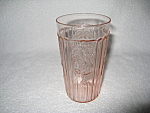 Click here to enlarge image and see more about item CV007: PINK MAYFAIR FLAT ICE TEA TUMBLER