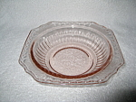 Click here to enlarge image and see more about item CV008: PINK MAYFAIR CEREAL BOWL