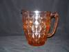 Click here to enlarge image and see more about item CZ397: PINK WINDSOR DEPRESSION PITCHER