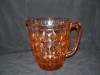 Click to view larger image of PINK WINDSOR DEPRESSION PITCHER (Image2)