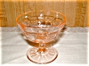 Click to view larger image of PINK PRINCESS SHERBET GLASS (Image2)