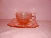 Click to view larger image of PINK ADAM DEPRESSION CUP & SAUCER (Image4)