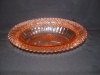 Click here to enlarge image and see more about item G505: PINK MISS AMERICA OVAL VEGETABLE BOWL
