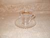 Click to view larger image of CANDLEWICK DEMITASSE CUP & SAUCER SET (Image1)