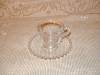 Click to view larger image of CANDLEWICK DEMITASSE CUP & SAUCER SET (Image2)