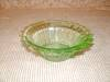 Click here to enlarge image and see more about item G593: GREEN SIERRA DEPRESSION CEREAL BOWL
