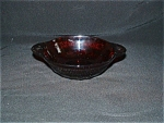 Click here to enlarge image and see more about item G771: ROYAL RUBY CORONATION BERRY BOWL