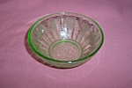 Click here to enlarge image and see more about item GR210: FLORAL POINSETTIA GREEN BERRY BOWL
