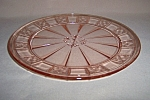 Click here to enlarge image and see more about item GR284: PINK DORIC DINNER PLATE