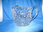 Click here to enlarge image and see more about item GR321: AMERICAN FOSTORIA JUG ICE LIP PITCHER
