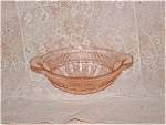 Click here to enlarge image and see more about item TC3232: PINK CORONATION BERRY BOWL