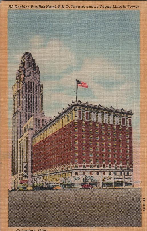 Deshler-Wallick Hotel & AIU Citadel, Columbus, OH - Linen