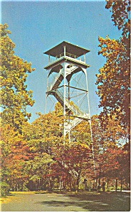Valley Forge PA  Observation Tower Postcard p13513 (Image1)