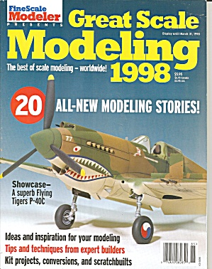 Fine Scale Modeler Special Issue Great Scale 1998