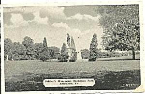 Lancaster PA Soldier s Monument Buchanan Park p32564 (Image1)
