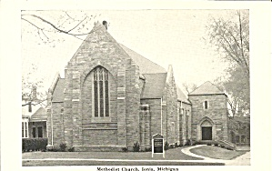 Ionia Mi Methodist Church Postcard P35904