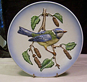 1974 Blue Titmouse Collector's Plate By Goebel (Image1)