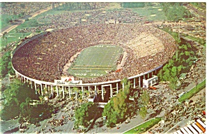 Pasadena CA Rose Bowl Postcard p5658 (Image1)
