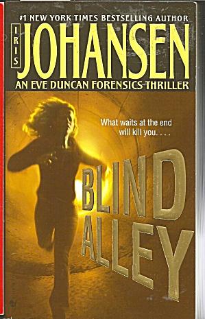 Iris Johansen-Blind Alley (Image1)