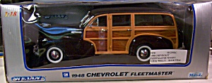1948 CHEVROLET FLEETMASTER WOODY 1:18 by WELLY (Image1)