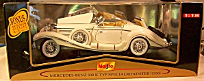 1936 Mercedes Benz 500K Typ Specialroadster 1:18th (Image1)
