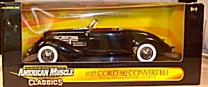 1937 Cord 812 Convertible 1:18th by Ertl (Image1)