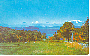 Lake Winnipesaukee,nh Postcard