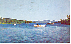 Meredith Bay,lake Winnipesaukee,nh Postcard
