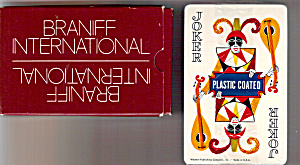 Deck Of Braniff International Playing Cards