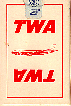 TWA Playing Cards Sealed in Box (Image1)
