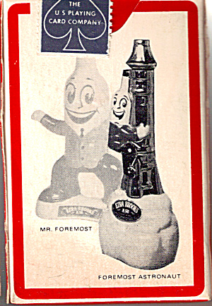 Foremost Liquor Stores Playing Cards Sealed Pinochile (Image1)