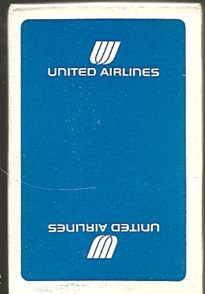 United Airlines Playing Cards-Blue Box- Mint Condition (Image1)