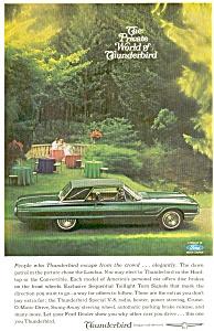 Thunderbird Landau Ad ca 1965 ad0017 (Image1)