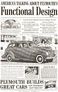Plymouth Deluxe Touring Sedan AD ad0019 1939 (Image1)