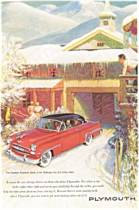 Plymouth Belvedere Ad 1953