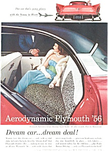 1956 Plymouth Belvedere Sport Coupe Ad ad0034 (Image1)