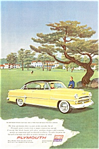 1954 Plymouth Belvedere Sport Coupe Ad ad0035 (Image1)