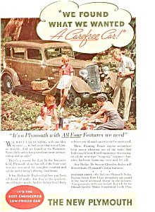 Plymouth Deluxe Sedan Ad ad0039 ca 1934 (Image1)