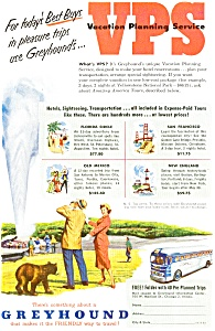 Greyhound Bus Lines Vps  Ad (Image1)